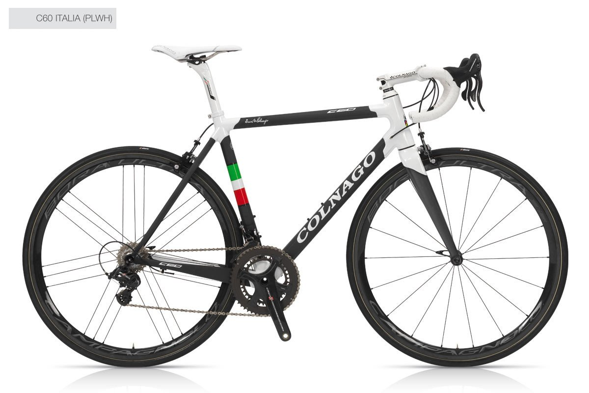 Colnago C60 ITALIA (frame, fork, headset, seatpost)